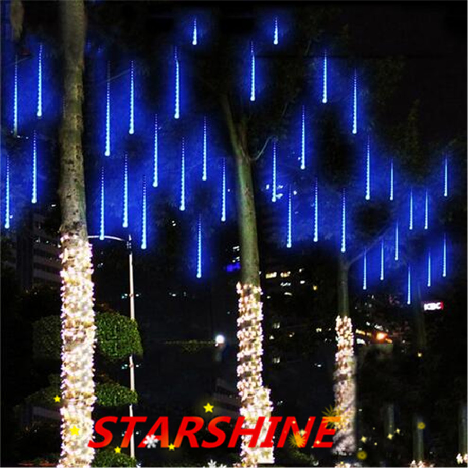 Buy 50cm 240led meteor shower rain tube - Large bulb exterior christmas lights ...