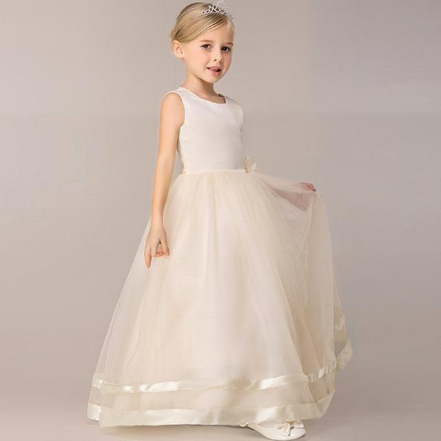 Vestidos para damas de honor de boda ninas