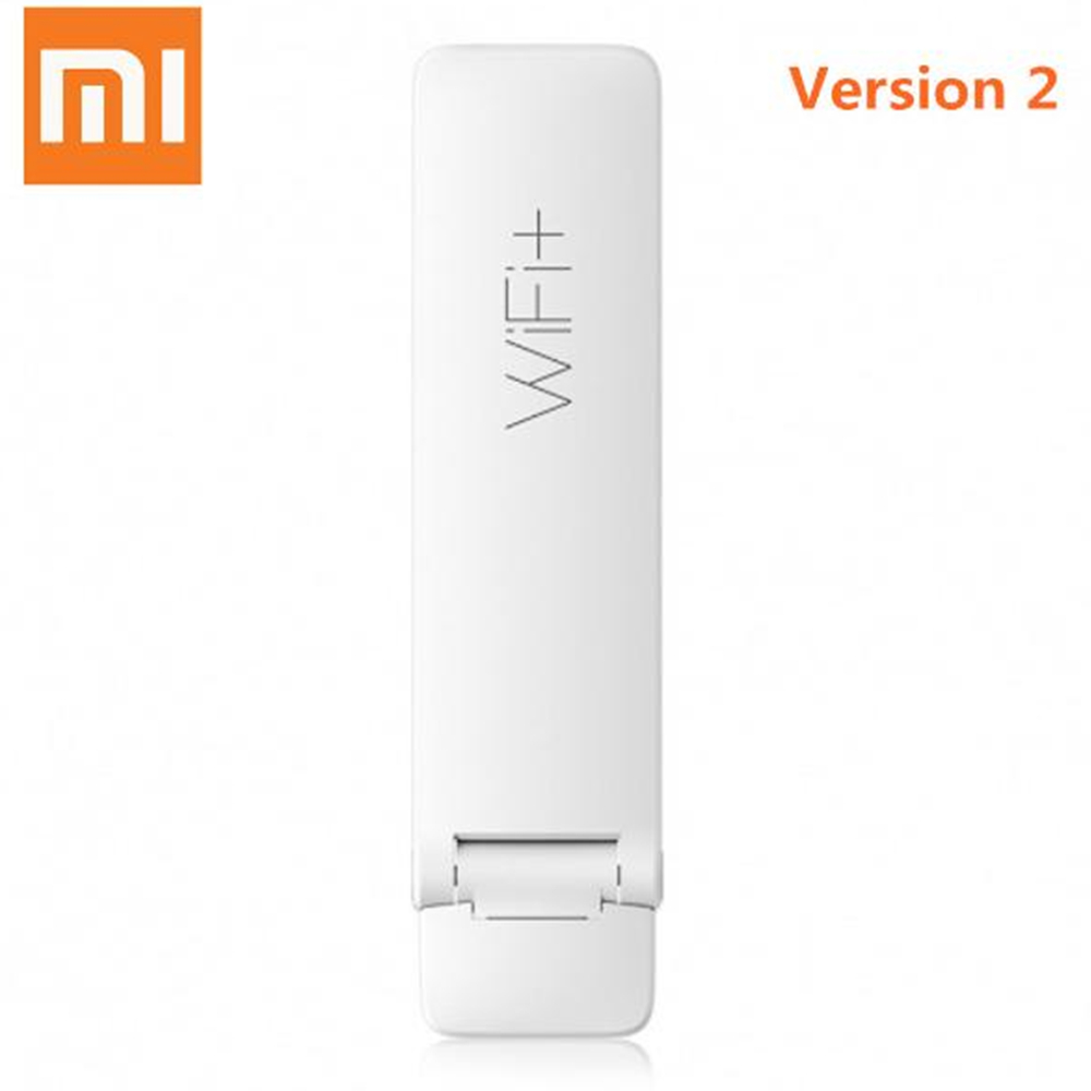 Original Xiaomi Mi WiFi 300m Xiaomi Wirless Mi WiFi Amplifier 2 Expander For Mi Router Upgrade Automatically English Version