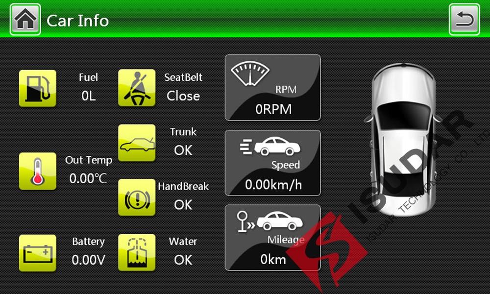 Isudar Car Multimedia Player GPS 2 Din For Octavia/SKODA Canbus Bluetooth Ipod Radio RDS WIFI USB SD Steering Wheel Control DVR