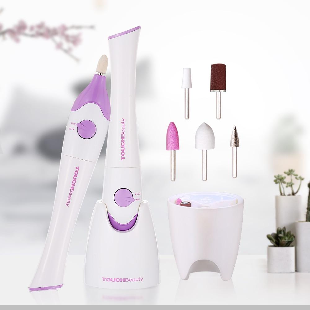 TOUCHBeauty elektrický lak na nehty a nehty s UV lampou, s 5ks - Manikúra