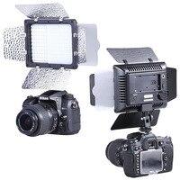 Bestlight 160 LED Barndoor Continuous Lighting Panel Kit Light For Canon Nikon Sony Panasonic Olympus Pentax