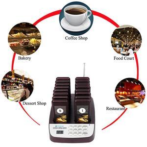 Image 5 - RETEKESS T113S מסעדת הביפר אלחוטי מלצר קורא מערכת 433.92MHz 16 איתורית רכבת מסעדה ציוד שירות לקוחות