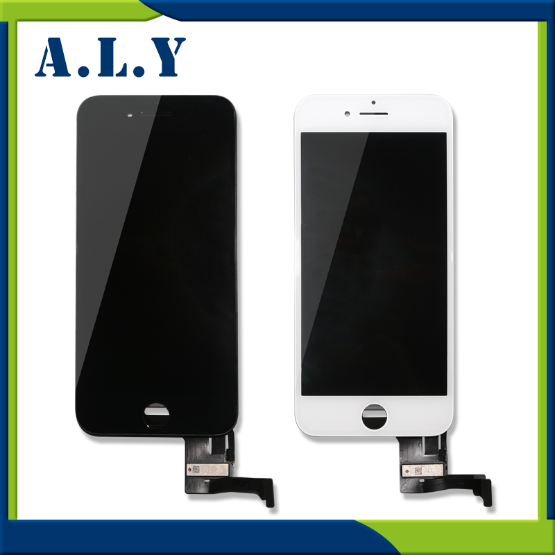 2pcs/lot A+++High Quality For iPhone 7 LCD Display With Touch Screen Digitizer Assembly Black/White Lcd DHL Free Ship 3pcs lot quality aaa lcd display for iphone 6s plus lcd screen lg brand digitizer touch assembly lifetime warranty dhl free ship