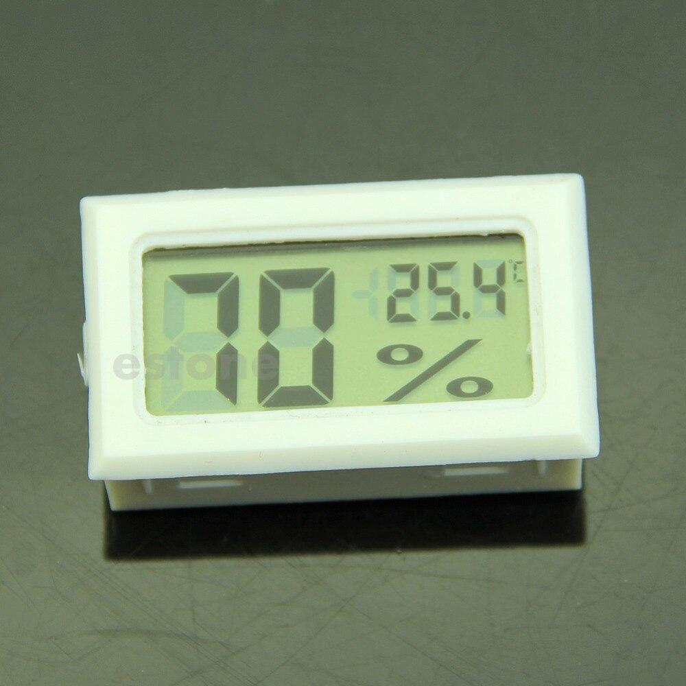 Messung Und Analyse Instrumente GüNstiger Verkauf Nizza F85 Lcd Digitale Temperatur-und Feuchtigkeitsmessgerät Messer Thermometer Hygrometer 10% ~ 99% Rh Weiß
