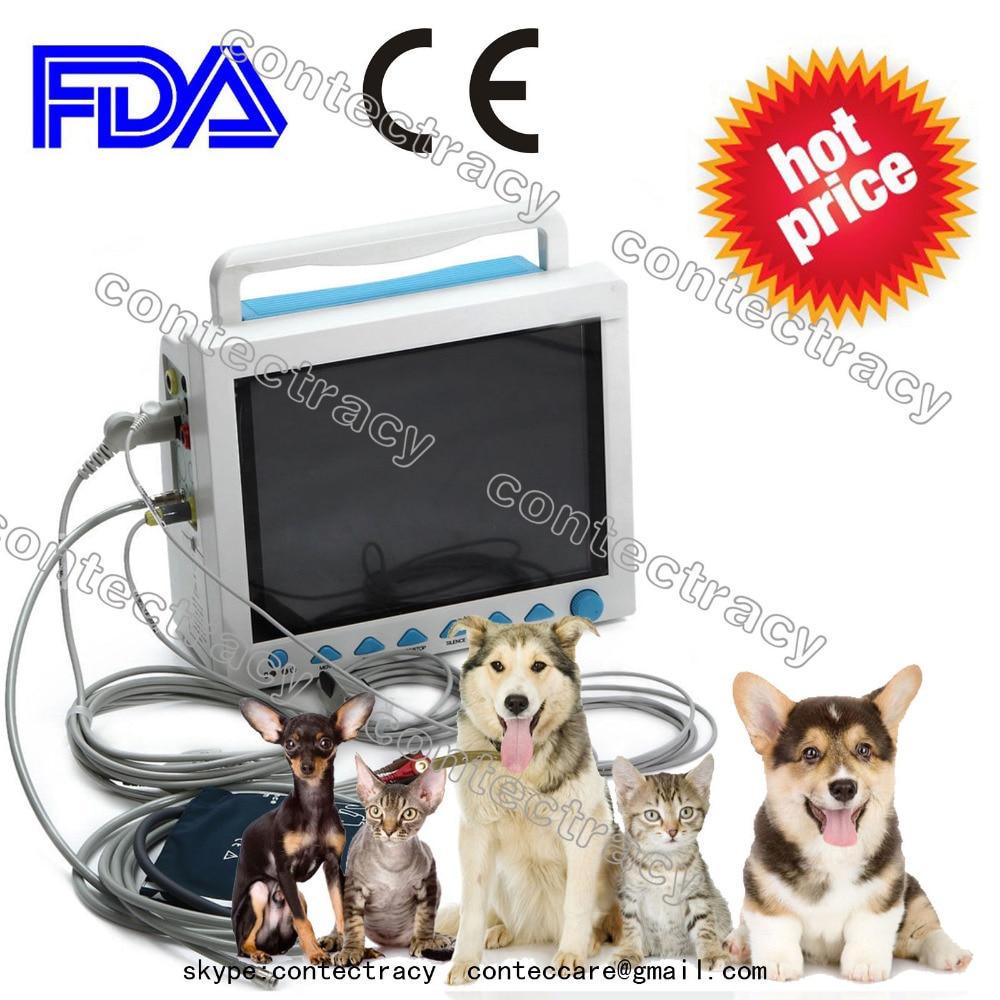 Veterinaria 12.1 pollici 6Parametro Monitor paziente / Macchina per ...