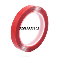 15mm X 1mm Strong Acrylic Adhesive Clear Double Sided Glue Tape 3 Meters Length