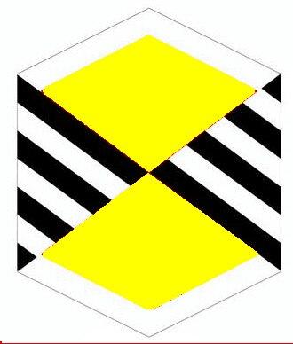 Nouveauté Sport de plein air hexagone Nylon carbone R cerf-volant/diamant cerfs-volants pour enfants cadeau avec poignée et ligne bon vol - 4