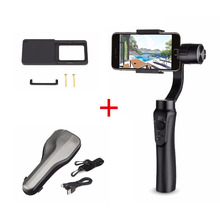 Zhiyun Smooth Q 3-Axis Handheld Gimbal Stabilizer for iPhone 7 6s Plus + Xiaomai Plate suit for Gopro Hero 5 / 4 / 3 / 3+ Camera