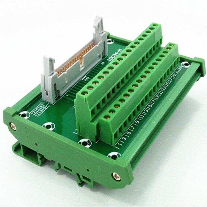 цена на IDC-34 DIN Rail Mounted Interface Module.