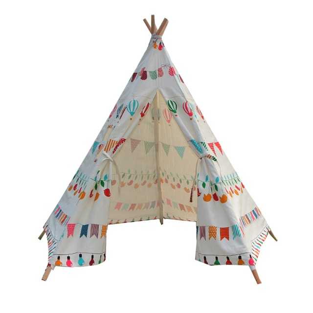 Free Love @balloon printing design Indian children tents Kids Teepee kids play house  sc 1 st  AliExpress.com & Free Love @balloon printing design Indian children tents Kids ...