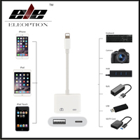 For Mini Lightning To USB 3 Camera Reader Adapter For IPhone X 8 5 5s 6