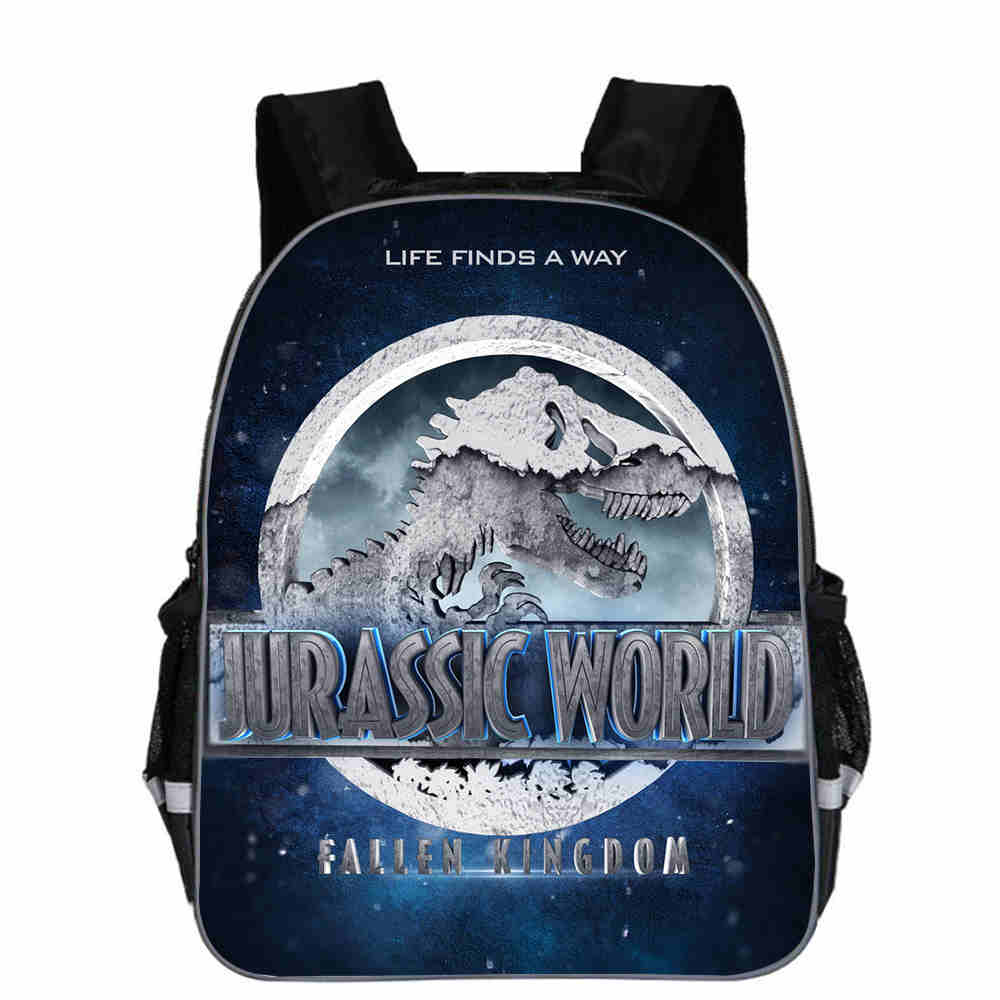 Dinosaur World Backpack Animal Anime Jurassic Dragon Casual School Bags Toddlers Boys Girls Teenager Mochila Gift Bolsa