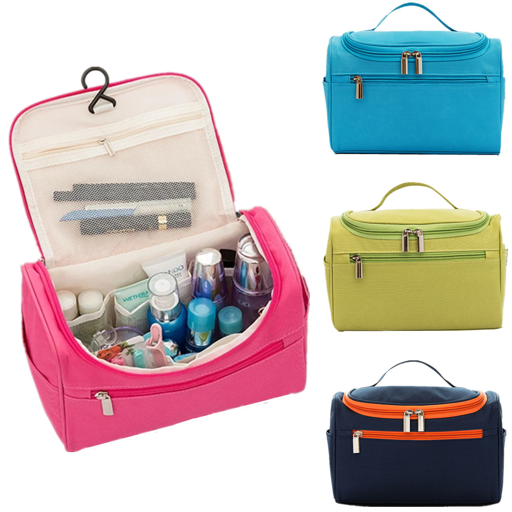 Hanging Organizer Cosmetic Bag Case Women Large Toiletry Wash Pouch Box Travel Necessary Vanity Beauty Makeup Storage Accessory