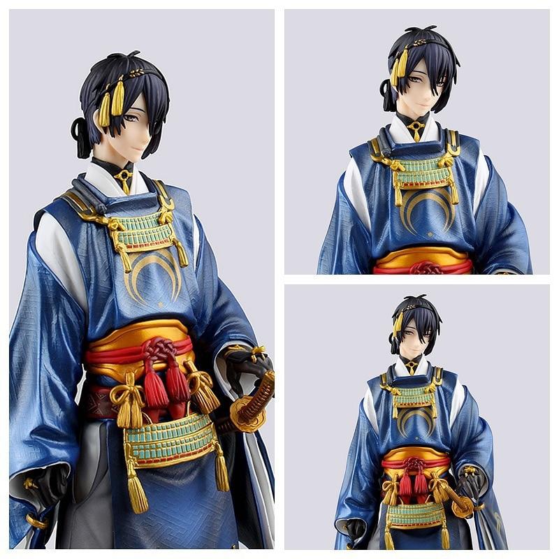 Touken Ranbu figurine en ligne Mikazuki Munechika cgc 23 CM figurines d'action en PVC Nendoroid jouets de collection