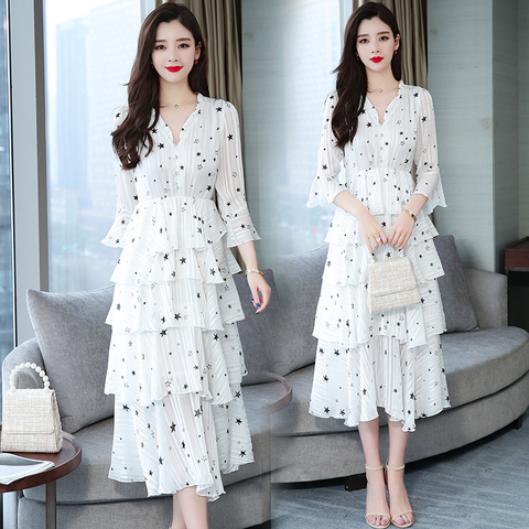 Women Dress Embroidered Mesh Tulle Slim Elegant Lady Princess Bridesmaid Wedding A-Line Party Dresses female plus size Karachi