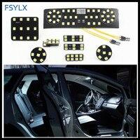 FSYLX dla VW LED wnętrza Lampy SMD LED wnętrza Samochodu lampka do czytania dla VW Passat B6 CC Jetta MK5 Trunk Lampka do czytania Panel Kit