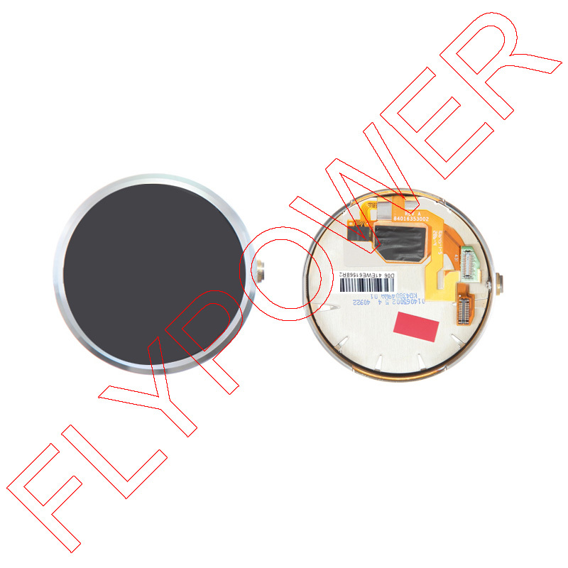 ФОТО 100% Warranty LCD Display LCD With Touch Screen Digitizer + Frame Assembly for MOTO 360 Smart Watch By Free Shipping