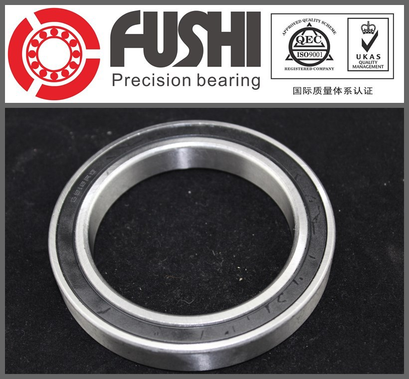 6910-2RS Bearing ABEC-1 (5PCS) 50x72x12 mm Metric Thin Section 6910 2RS Ball Bearings 6910RS 61910 RS 1pcs 71822 71822cd p4 7822 110x140x16 mochu thin walled miniature angular contact bearings speed spindle bearings cnc abec 7