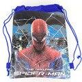 1 unids Spider-man niños de la escuela bolsas de hombro mochilas para niños mochila lazo de la historieta 144552