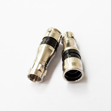 Wholesale RG11 Compression F Connectors For RG11 Cable COAX F Connector RG59 RG6 RG11 Waterproof F Connector RF Connectors цена