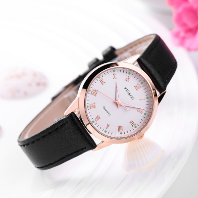2018 non woven mechanical watch ladies watch casual strap real woman table couple fashion table