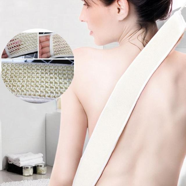 Esfoliante Lungo Loofah Indietro scrubber Spazzola per il bagno Schiena E Corpo