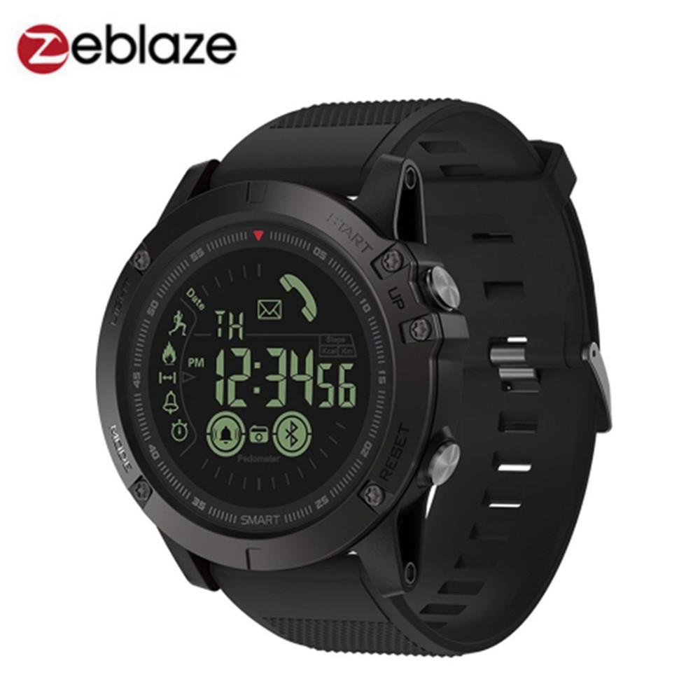 Zeblaze VIBE 3 Flagship Rugged Smartwatch 33-month Standby Time 24h All-Weather Monitoring Smart Watch For IOS And Android orologio delle forze speciali