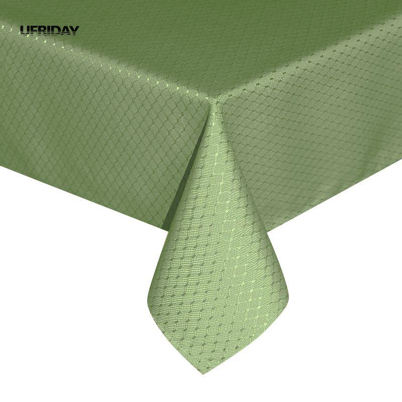 UFRIDAY Veshja e tavolinave të Rrobave të Endura Tabelat e gjelbra Shtëpi Toalha De Mesa Nappe Mantel Manteles Para Mesa Tavolina Cover Hotel Zyra Dasma