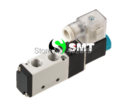 где купить Free Shipping 5 way 4V210-06 Inner Guide Pneumatic Solenoid Valves 1/8'' AC110V (factory) дешево