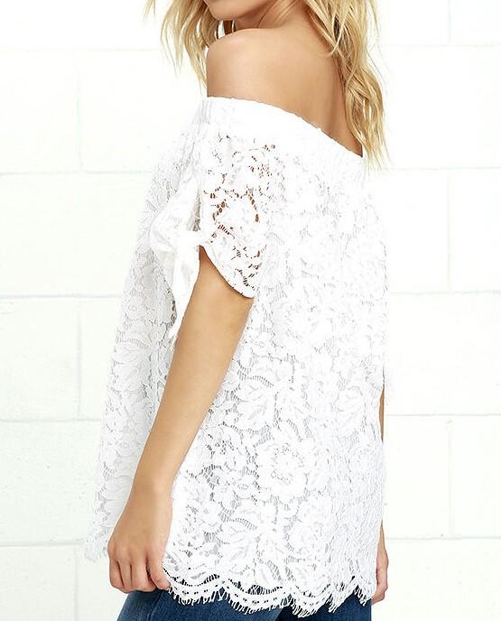 HTB1yGPeJVXXXXamXFXXq6xXFXXXB - Women Blouses Lace Crochet Shirts Fashion Summer Sexy Casual