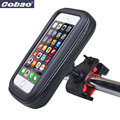 Waterproof 5.5 inch Universal Bicycle Motorcycle Handlebar Phone Mount Holder Case For Samsung Note /bike cases for iphone 5 6 7