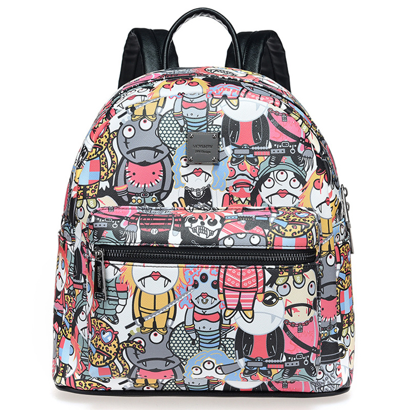 New high quality Sac a dos Backpacks For Teenage Girls Mochila Escolar Cute Mochila Escolar Graffiti Backpack women backpack mochila backpack for travel sac a dos korean style backpacks for teenage girls high quality bag gift for new year