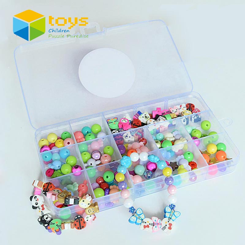 DIY Magic Puzzle Fimo Beads Jewelry Box Princess Vanity Case Design