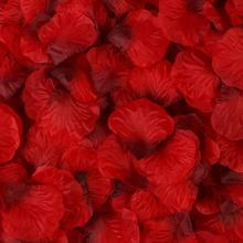 2000 Pieces Artificial Rose Petals Wedding Hand Sprinkling Flowers Wedding Room Decoration Wedding Ceremony Scene Layout artificial hand made flowers