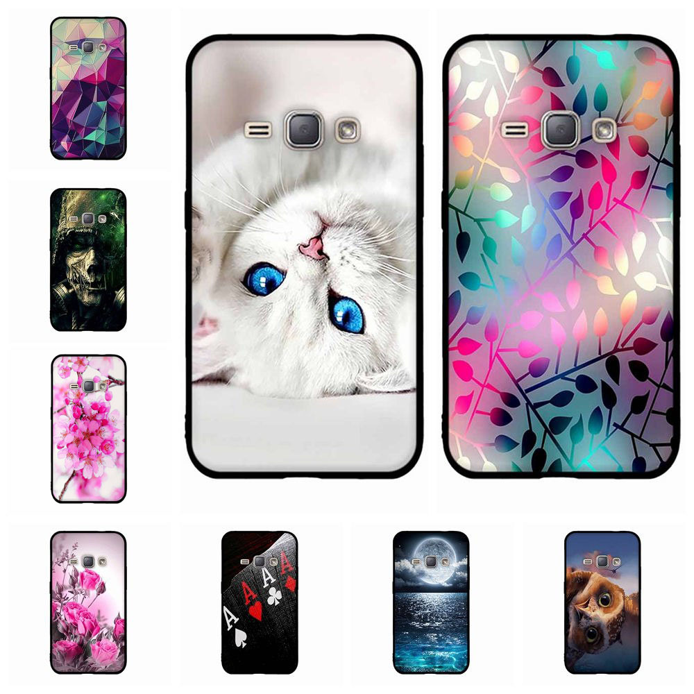 <font><b>For</b></font> <font><b>Samsung</b></font> <font><b>Galaxy</b></font> J1 2016 <font><b>J120F</b></font> <font><b>Case</b></font> 3D Funda Coque Silicone TPU Back Cover <font><b>For</b></font> <font><b>Samsung</b></font> J1 2016 J1 6 SM-<font><b>J120F</b></font> J120 Phone <font><b>Case</b></font> image