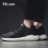 Sneakers for men lace-up running shoes for men breathable superstar shoes Mans footwear Air shoes sport shoes black big sizes