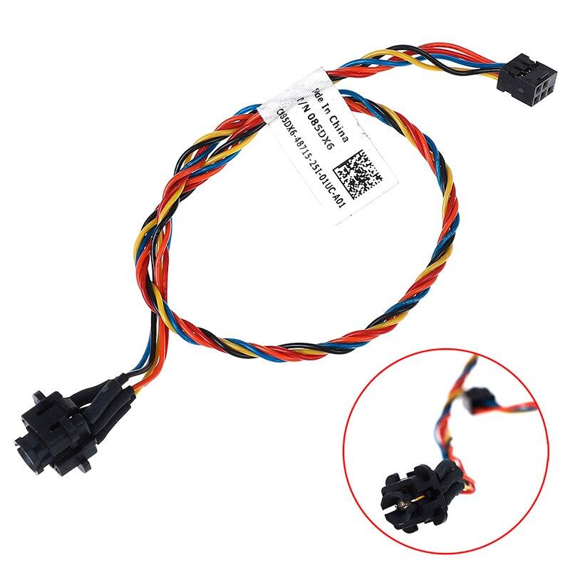 Для Dell Optiplex 390 790 990 3010 7010 9010 085DX6 85DX6 Мощность кнопка включения кабель on AliExpress