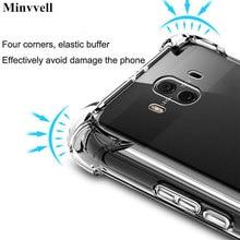 Voor Huawei P9 P10 Plus P20 Pro Lite Case Clear Tpu Voor Huawei Mate 20 Lite 10 Pro Nova 3 3i 3e 2S Schokbestendig Airbag Cover