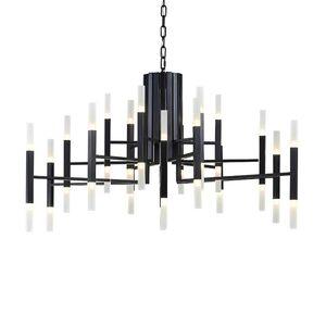 Image 2 - Moderno Ferro Ramo di Arte Star Lampadario di Moda soggiorno Ristorante A Tema Nordic lampada Luce lusso lampada acrilica