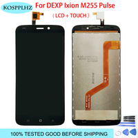 5.5 inch For DEXP Ixion M255 PulsLCD Display+Touch Screen Digitizer 100% tested LCD Screen Glass Panel Assembly +tools