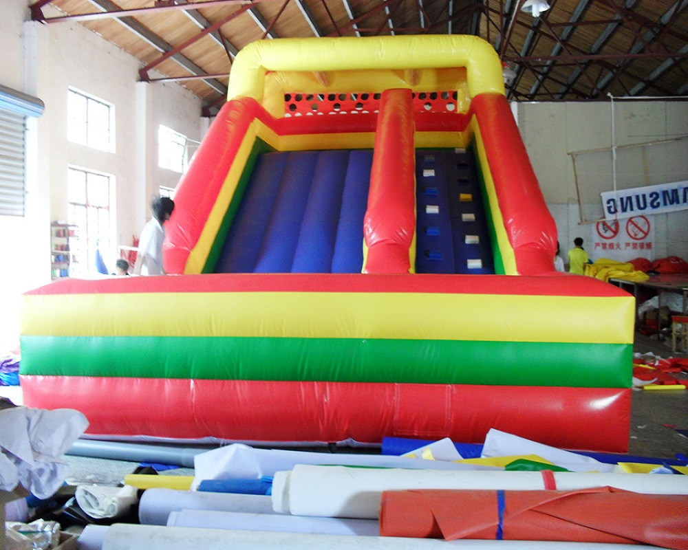 China giant inflatable games inflatable slides inflatable playground