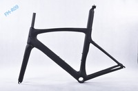Factory direct 700C full carbon road bike frame road racing bike frame lightweight full carbon fiber bicycle frame and PF30 BB