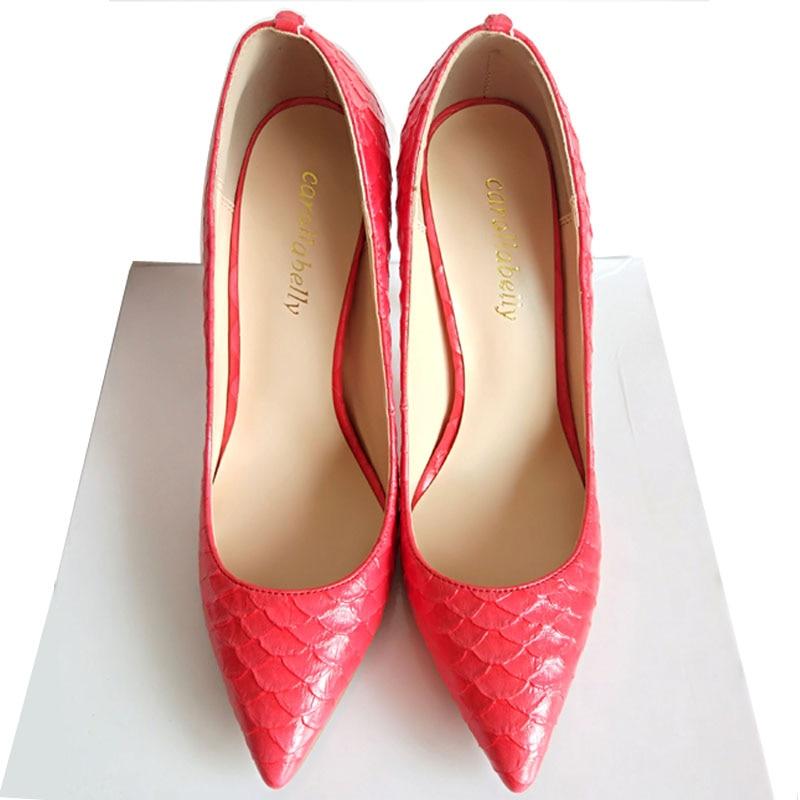 blue Gold red Femme Chaussures Pompes 12cm 12cm purple Femmes 12cm 12cm Stilettos Imprimé Serpent 12cm black 12cm Sexy white Hauts Pointu grey Marque Talons Carollabelly 12cm Mariage nz4Oqq