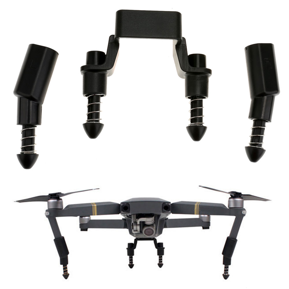 Shockproof Heightened Landing Gear Lengthened Extended Safe Landing Bracket Tapered Spring Protector for DJI Mavic Pro