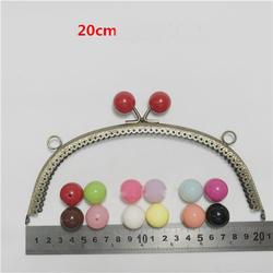 Для женщин сумки кошелек кадр красочный мяч поцелуй пряжки накатки металлическая застежка сумки аппаратных решений аксессуары 20,5 см 5