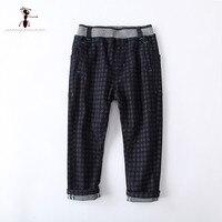 Kung Fu hormiga 2017 nueva llegada imprimir algodón pantalones para niños 4 T 5 t 6 t 7 T 8 T 9 t 10 t pantalones del tamaño 73425