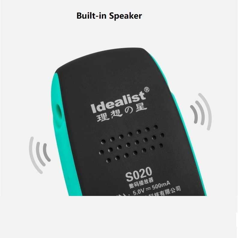 Idealist спортивный MP3-плеер для бега музыкальный плеер встроенный u-диск Mp3 мини студенческий Walkman ABS 16G встроенный динамик повязки наушники