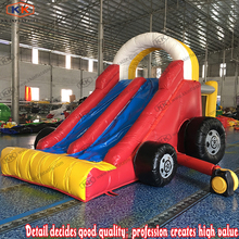 Used Commercial Child Inflatable Mini Car Slide Bouncer