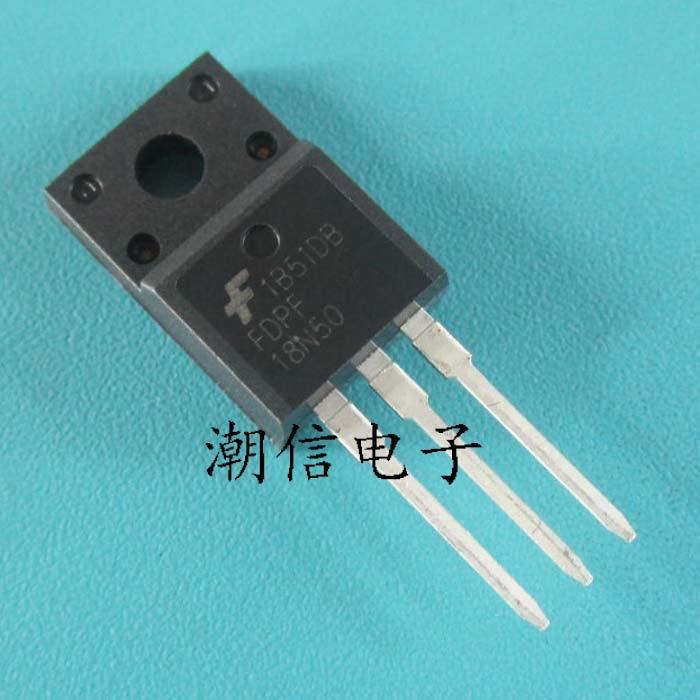 1pcs FDPF18N50 FDPF18N50T 500V N-Channel MOSFET TO-220F